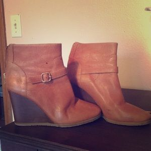 J.Crew Wedge Booties